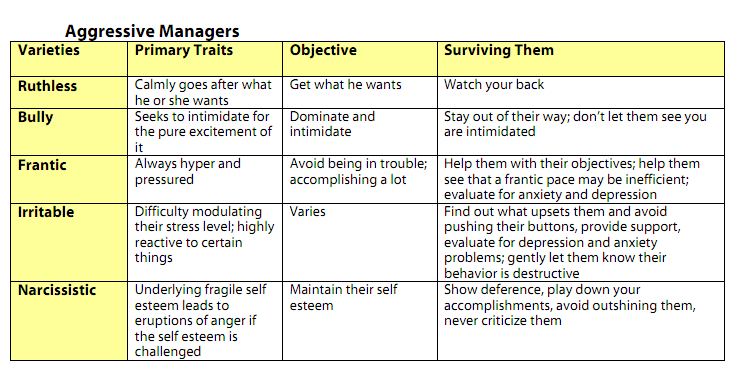What is passive aggressive behavior examples