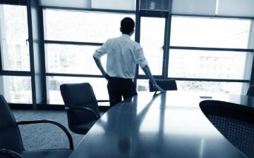 CEO in boardroom