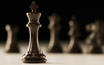 Image of a king chess piece