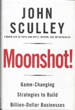 Cover of the book Moonshot by John Sculley