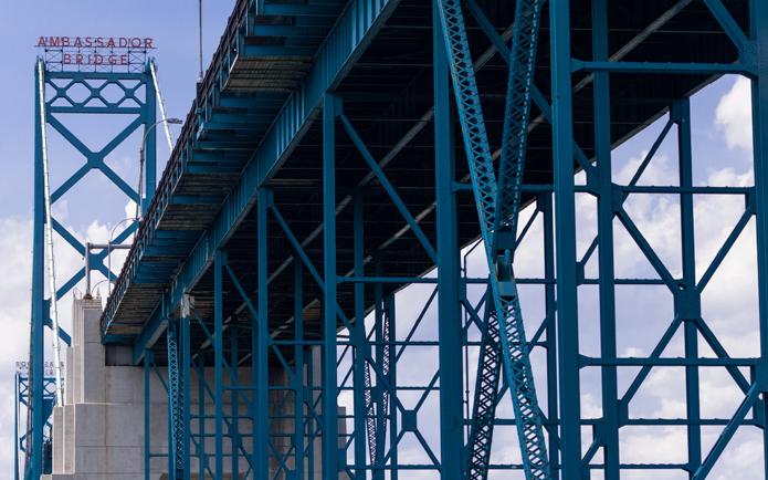 Image of the Ambassador Bridge