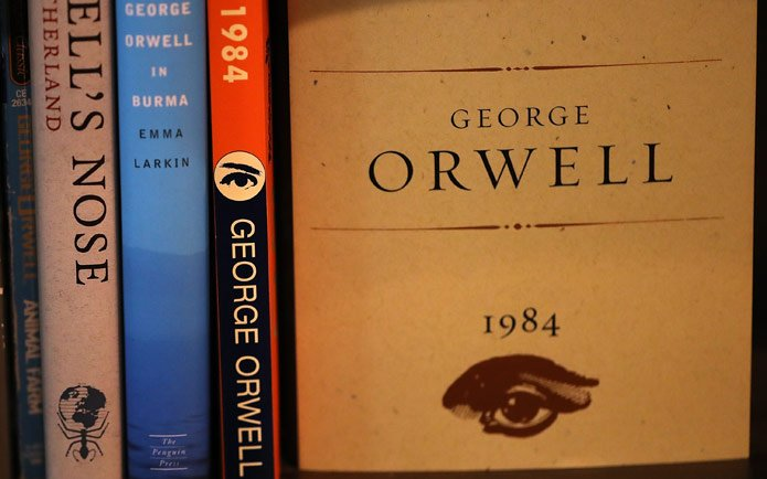 Image of books by George Orwell