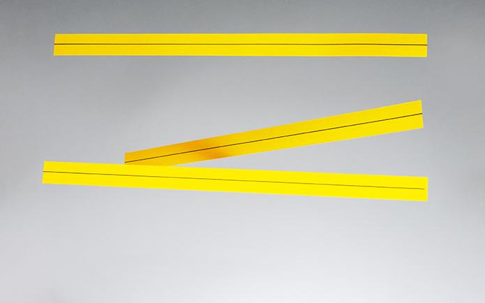 Three non-parallel lines
