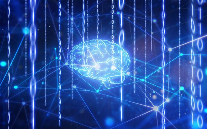 Artificial intelligence brain in network