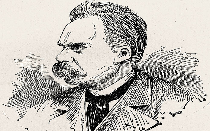 Friedrich Nietzsche, german philosopher, 1844-1900